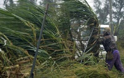 Tifón Vongfong deja 40 heridos en Japón