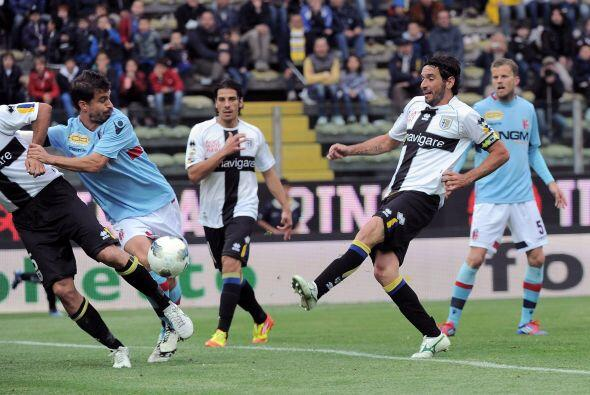 Parma se vio las caras con el Bolonia.