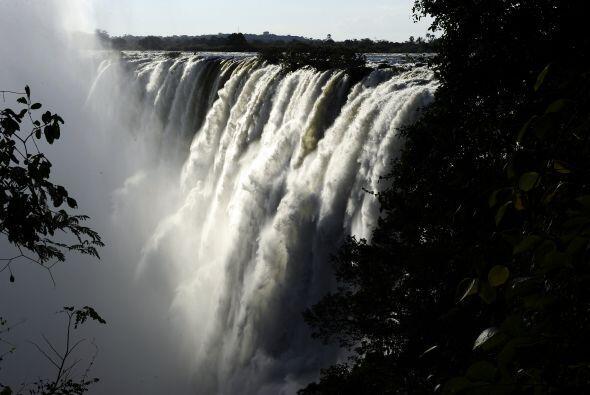 Las Cataratas Victoria en Zimbabwe