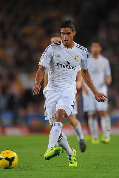 En su tercera temporada con Real Madrid, el francés Raphael Varan...