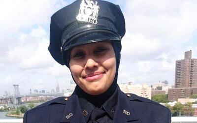 La agente Aml Elsokary