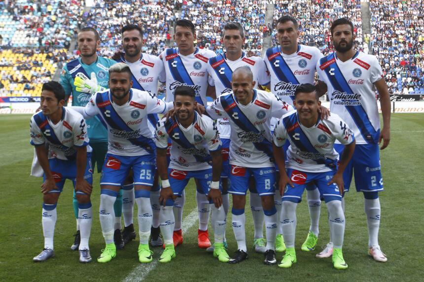 Morelia derrotó a Puebla con gol de último minuto Equipo Puebla.jpg