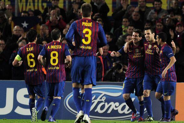 A pesar de los tropiezos en la Liga, el Barcelona sigue firme en la Cham...