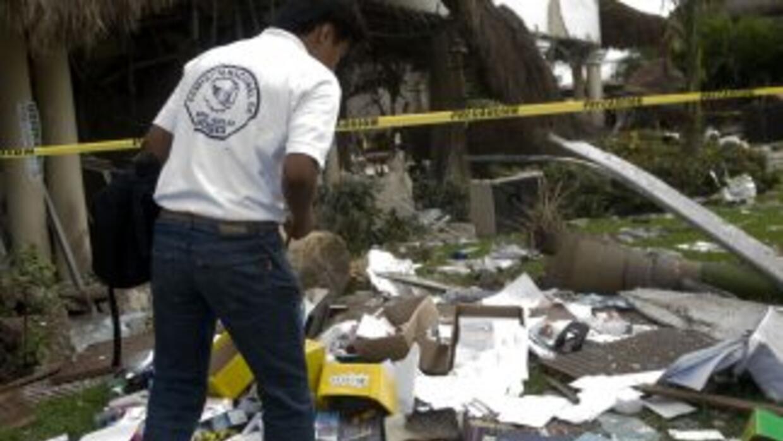 La explosión registrada en noviembre pasado en un hotel de Playa del Car...