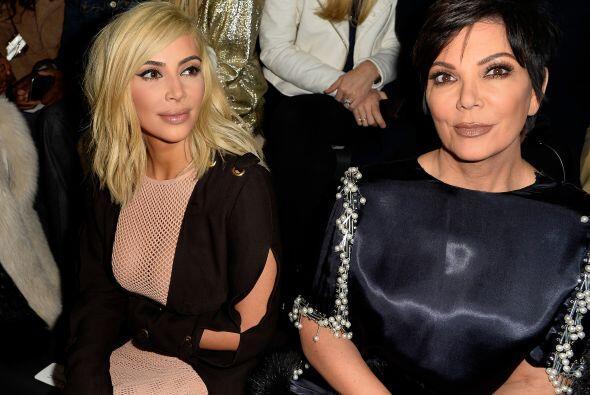 Aprobado por mami Kris Jenner, ¿verdad?