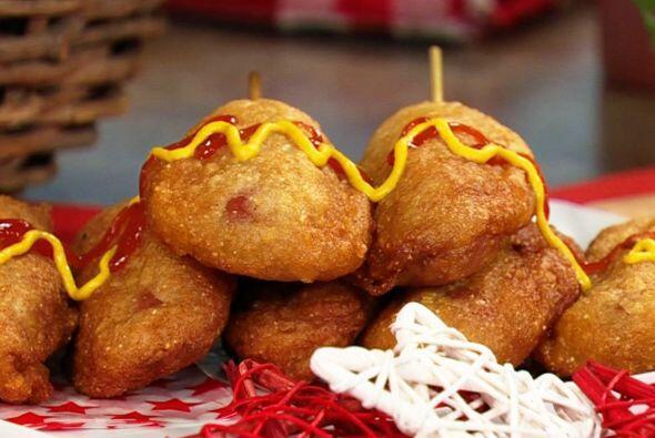 'Corn-dog': Para darle una textura deliciosa esta receta usa tortilla tr...