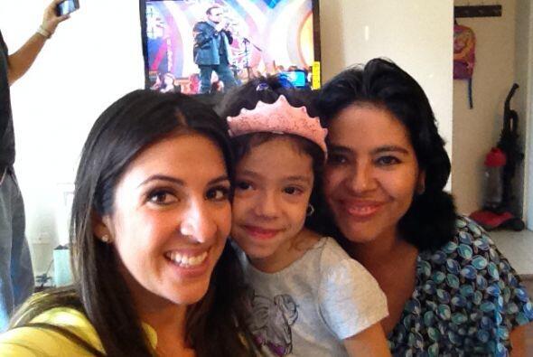 Maity desayunó con la familia Chávez - Medina