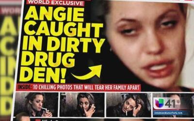 Angelina Jolie ¿drogada y borracha?