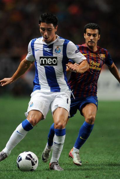 La mayoría del tiempo se jugó en campo del Porto.