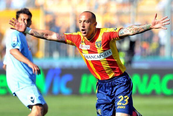 El uruguayo Javier Chevantón marcó el gol que le dio el tr...