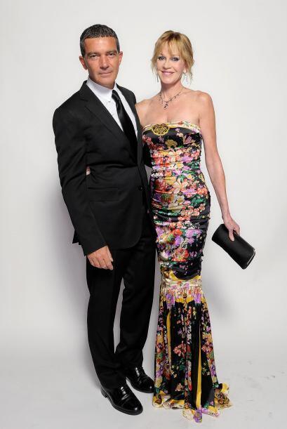 Antonio Banderas y Melanie Griffith, una de las parejas más s&oac...