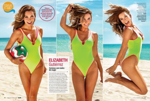 El carisma tiene rostro de mujer, ella es Elizabeth Gutiérrez.