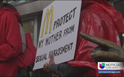 Trabajadores de McDonald's denuncian acoso sexual