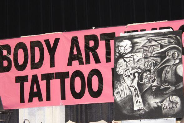 El show en el Body Art Expo