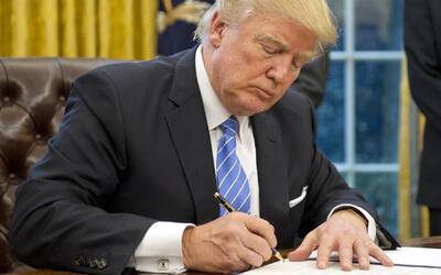 Los secretos no confesados que revela la firma de Donald Trump
