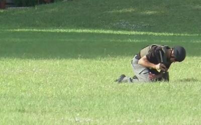 Mujer que llevó granadas a estación de policía de Miami-Dade dijo que la...