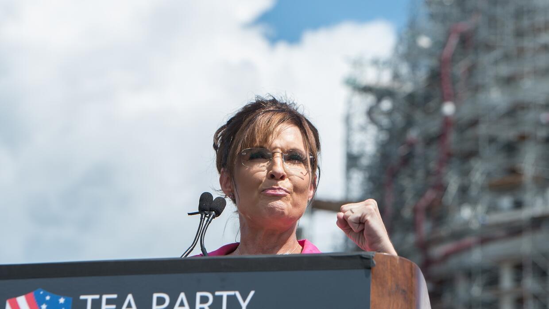 La exgobernadora de Alaska Sarah Palin