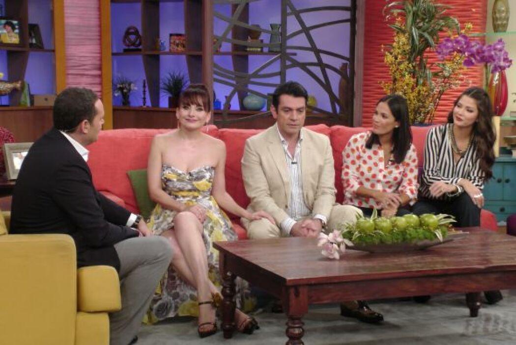 Elizabeth dijo que Jorge es un esposo 'a todo dar'. ¡Qué linda pareja!