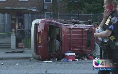 Un muerto y varios niños heridos en accidente