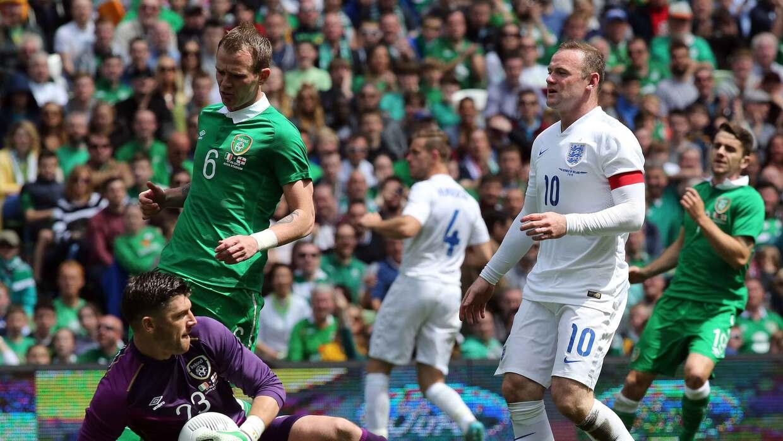 Irlanda 0-0 Inglaterra: Reencuentro en Dublín en duelo pacífico y sin go...