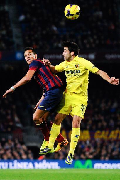 Incluso en los últimos minutos el Villarreal demostró que estaba muy viv...