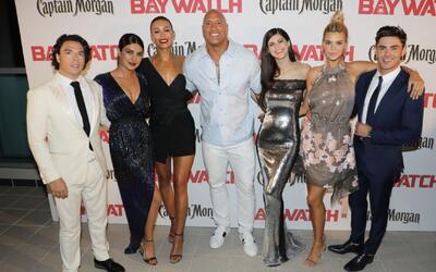 Así se festejó el estreno de Baywatch en Miami Beach