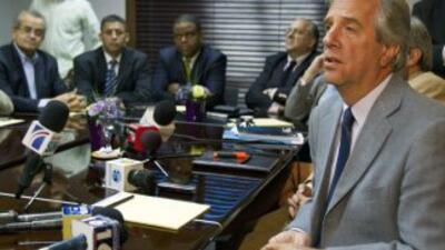 El jefe de la misión de observadores de la OEA para las elecciones domin...