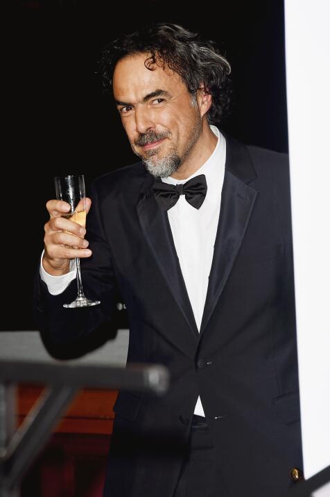 Alejandro González Iñárritu en el Oscar 2015