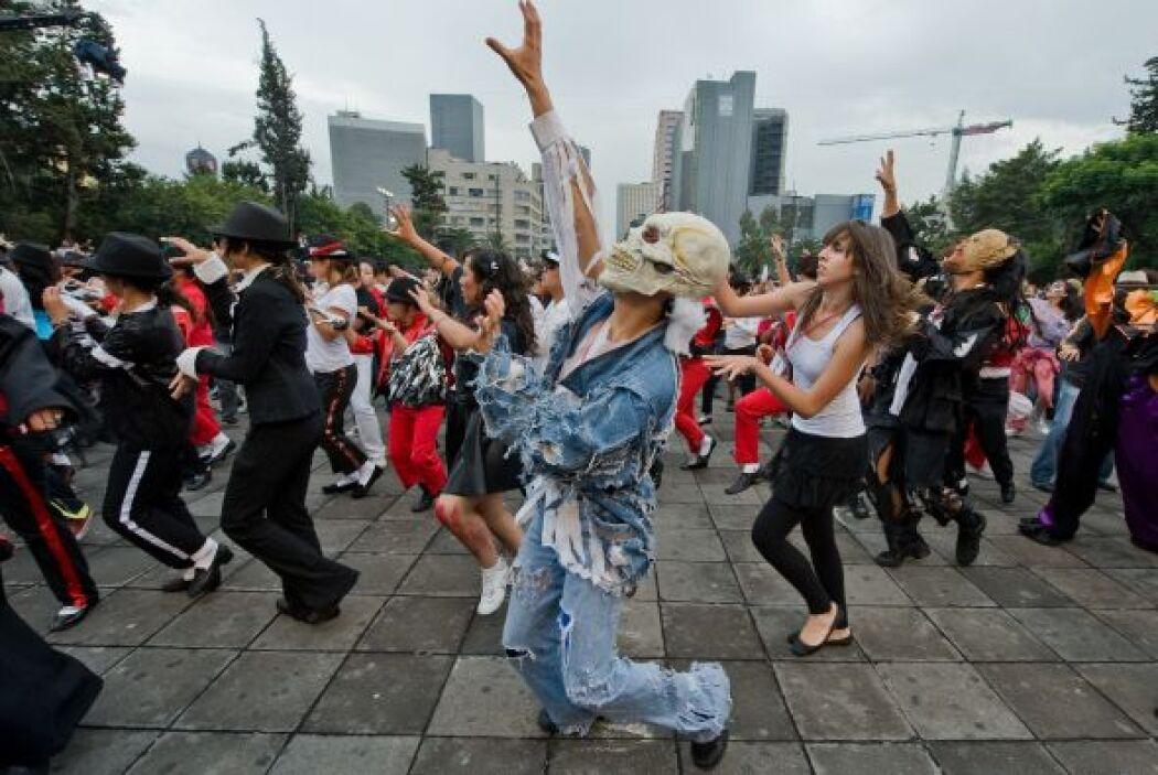 En el evento los mexicanos no sólo cantaron y bailaron, también personif...