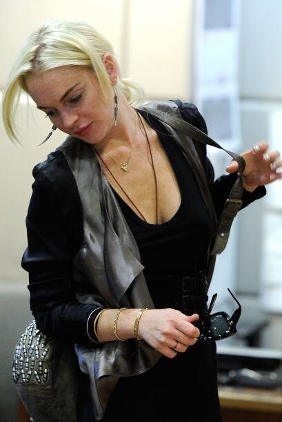 Lindsay Lohan dijo que no tenía dinero para pagarle al psic&oacut...