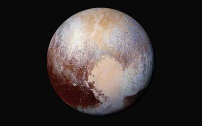 Una imagen captada por la nave espacial New Horizons el 24 de julio de 2...