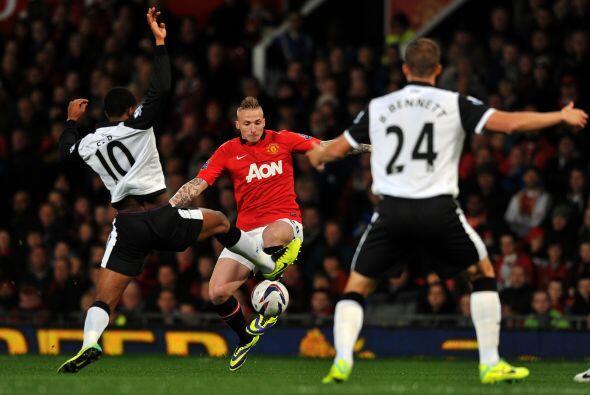 El United no dejó de ser el dominador del partido.