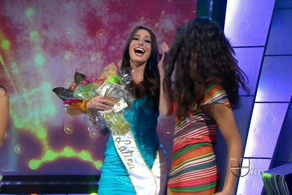 Alejandra considero que el premio era un preludio de lo que sería mana.