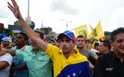 Henrique Capriles anuncia un ultimátum de la oposición al gobierno de Ni...