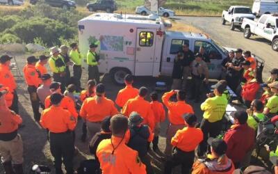 Más de 65 elementos de rescate de cuatro condados buscan a Pearl...