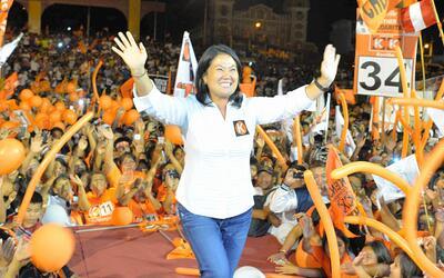Fujimori toma fuerza para la segunda vuelta de las elecciones