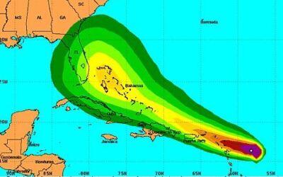 Bajo aviso Puerto Rico por Tormenta Erika