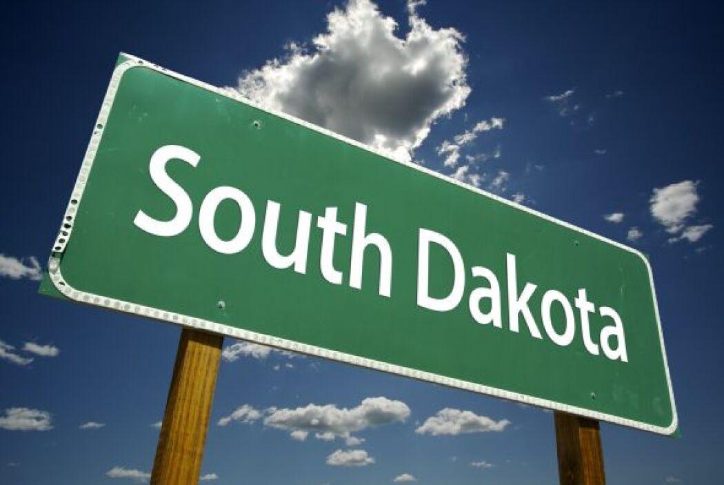 9.- Dakota del Sur: En un año perdió seis lugares hasta situarse en el n...