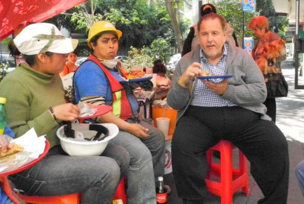 Cuando ha visitado México ha probado de todo, hasta las quesadillas de D...