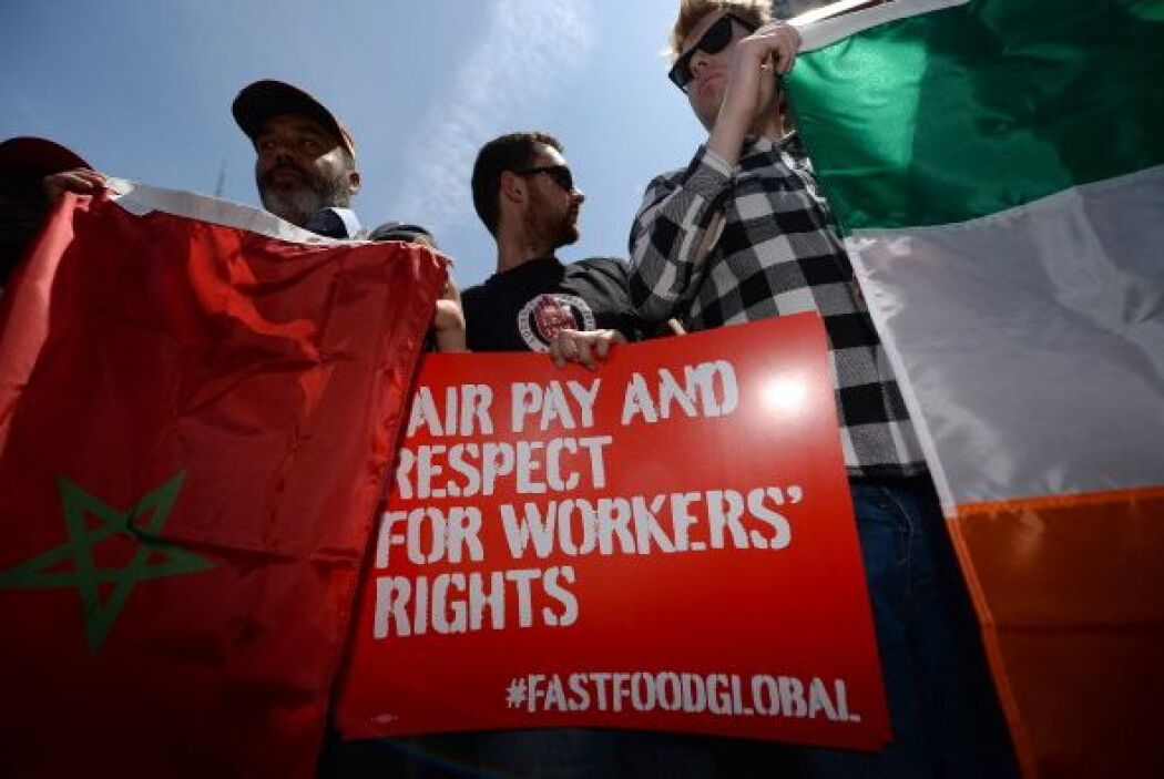A esta protesta se unirán trabajadores en más de 33 urbes en seis contin...