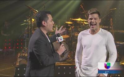 Ricky Martin habla de su gira, La Banda y hasta de la niña que quiere tener