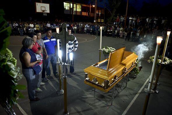 La familia de Julio César Ramírez Nava despide al joven asesinado en Igu...