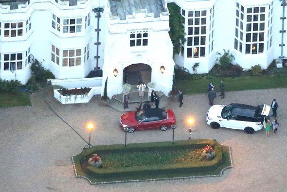 Todos los invitados fueron llegando poco a poco la tarde del sába...
