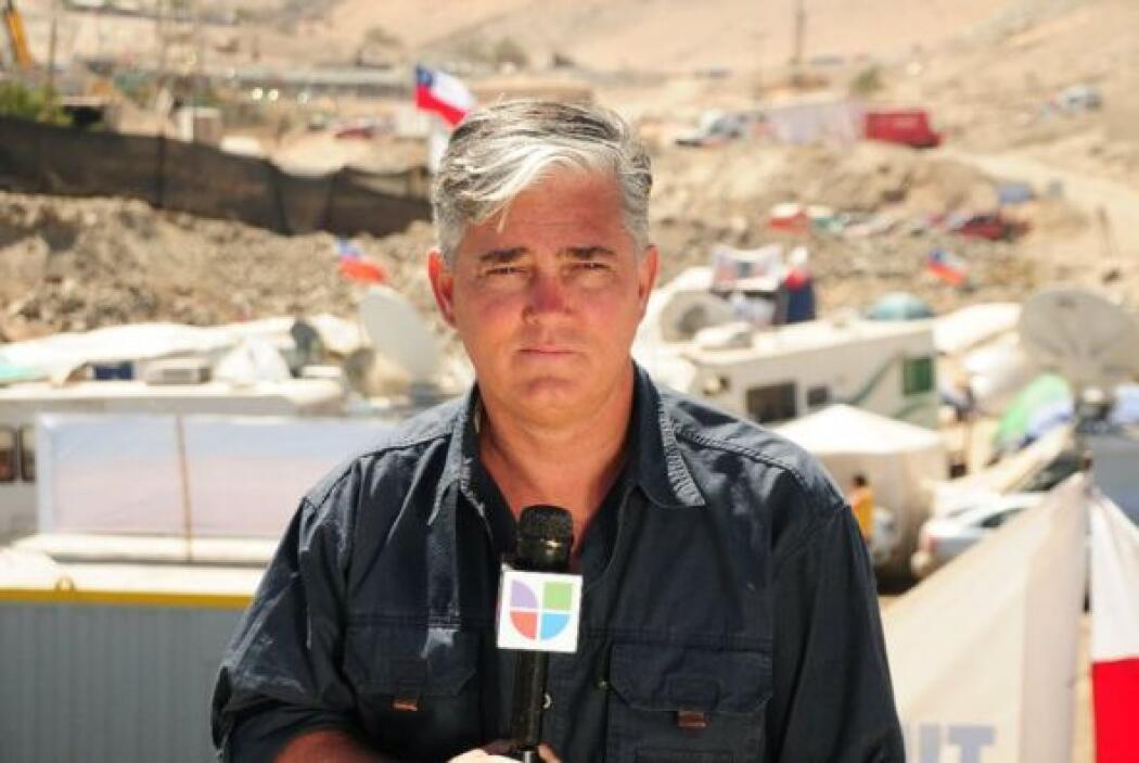 Lo que destaca el periodista es la solidaridad y el apoyo del pueblo chi...