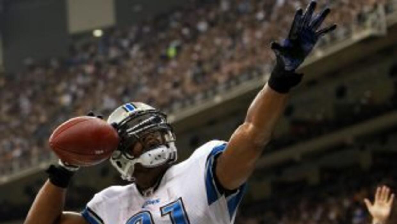 Calvin Johnson es uno de los mejores atletas en la NFL.