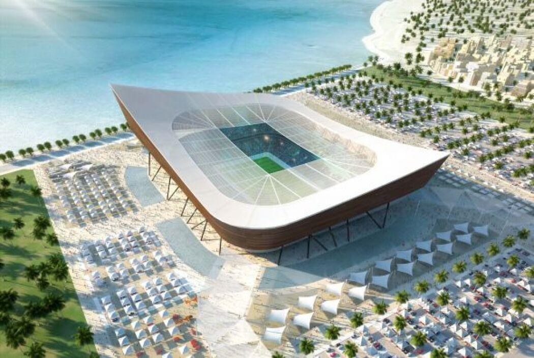 Otro de los nuevos será Al-Shamal Stadium (Al-Shamal), con lugar para 45...