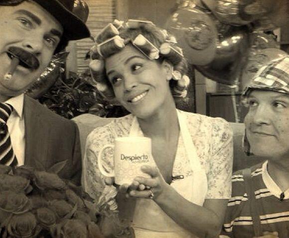 """""""Para no olvidar... ¡Los quiero! #yo chespirito @raultvgonzalez @alantac..."""