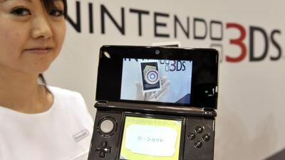 El 3Ds mantiene a Nintendo como uno de los líderes de la industria.
