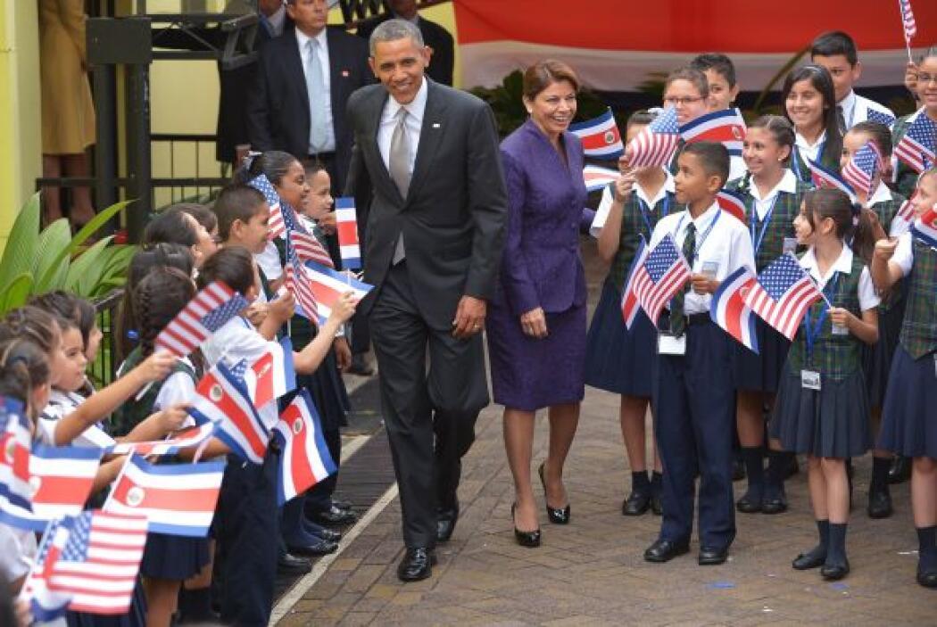 """El presidente de EEUU, Barack Obama, destacó el """"enorme potencial"""" y el..."""