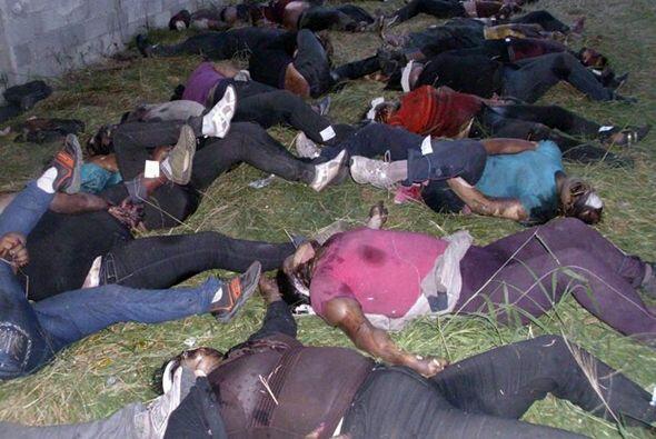 En agosto fueron asesinados 72 migrantes en Tamaulipas, mientras que en...